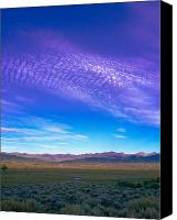 Sangre De Cristo Mountains Canvas Prints - Sunset La Vega Costilla County CO Canvas Print by Troy Montemayor