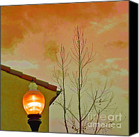 Raisa Gertsberg Canvas Prints - Sunset Lantern Canvas Print by Ben and Raisa Gertsberg
