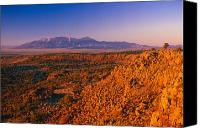 Sangre De Cristo Mountains Canvas Prints - Sunset Mount Blanca CO Canvas Print by Troy Montemayor