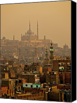 Middle East Canvas Prints - Sunset On Old City, Cairo Canvas Print by Tom Horton, Further To Fly Photography