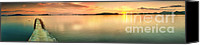 Time Travel Canvas Prints - Sunset panorama Canvas Print by MotHaiBaPhoto Prints