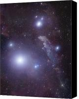 Cederblad 41 Canvas Prints - Supergiant Rigel And Ic 2118 Canvas Print by Robert Gendler