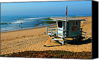 Surfers Canvas Prints - Surfrider 4th Canvas Print by Ron Regalado