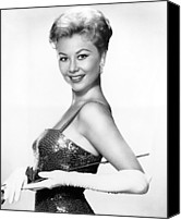 White Gloves Canvas Prints - Surprise Package, Mitzi Gaynor, 1960 Canvas Print by Everett
