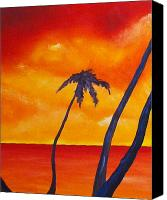 Joseph Palotas Canvas Prints - Surprise Sunrise Canvas Print by Joseph Palotas