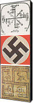 Emblematic Photo Canvas Prints - Swastikas Canvas Print by Science Source