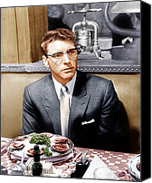 1950s Movies Canvas Prints - Sweet Smell Of Success, Burt Lancaster Canvas Print by Everett