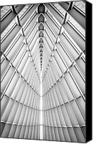 Art Museum Canvas Prints - Symmetry Canvas Print by Scott Norris