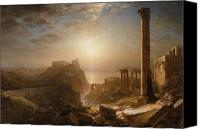 Church; Frederic Edwin (1826-1900) Canvas Prints - Syria by the Sea Canvas Print by Frederic Edwin Church