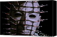Hypodermic Canvas Prints - Syringe Head Canvas Print by Nathan Wright