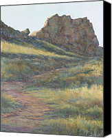 Loveland Canvas Prints - Take a Hike Canvas Print by Billie Colson