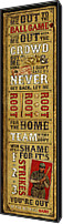Ty Cobb Canvas Prints - Take Me Out the the Ballgame Canvas Print by Jeff Steed