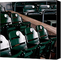 Detroit Tigers Canvas Prints - Take Me Out to the Ball Game Canvas Print by Michelle Calkins
