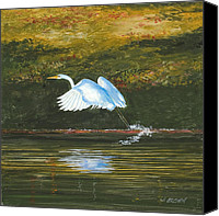 John Brown Canvas Prints - Taking Flight Canvas Print by John Brown