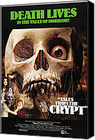 Horror Fantasy Movies Photo Canvas Prints - Tales From The Crypt, On Left From Top Canvas Print by Everett