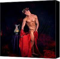 Artistic Nude  Canvas Prints - Talk About It Canvas Print by Mark Ashkenazi