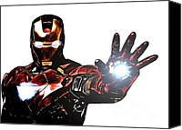 Ironman Canvas Prints - Talk to the Hand Canvas Print by The DigArtisT
