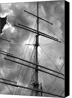 Daniel Canvas Prints - Tall Ship Masts Canvas Print by Robert Ullmann