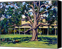 Abstract Realist Landscape Canvas Prints - Tanglewood Before the Concert Canvas Print by Thor Wickstrom