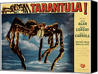 1950s Poster Art Canvas Prints - Tarantula, 1955 Canvas Print by Everett