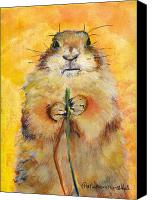 Large Painting Canvas Prints - Target Canvas Print by Pat Saunders-White            
