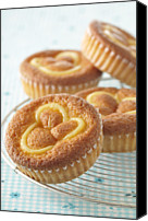 Torte Canvas Prints - Tarts Canvas Print by Jean-Christophe Riou