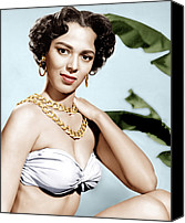 1950s Movies Canvas Prints - Tarzans Peril, Dorothy Dandridge, 1951 Canvas Print by Everett