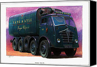 Old Fashioned Painting Canvas Prints - Tate and Lyle Foden. Canvas Print by Mike  Jeffries