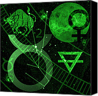 Venus Canvas Prints - Taurus Canvas Print by JP Rhea