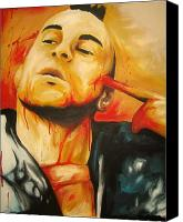 Robert Deniro Canvas Prints - Taxi Driver Canvas Print by Monk