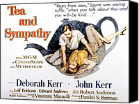 1956 Movies Canvas Prints - Tea And Sympathy, John Kerr, Deborah Canvas Print by Everett
