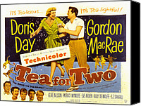 Fid Canvas Prints - Tea For Two, Doris Day, Gordon Macrae Canvas Print by Everett