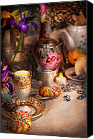 Tea Party Photo Canvas Prints - Tea Party - The magic of a tea party  Canvas Print by Mike Savad