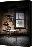 Abandoned Structures Canvas Prints - Tea Time Canvas Print by Emily Stauring