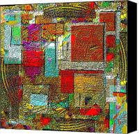 Post Cardart Online Canvas Prints - Tectural 162 Canvas Print by Nedunseralathan R