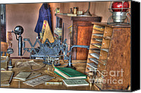 Kelso Canvas Prints - Telegraph Office At Kelso Canvas Print by Bob Christopher