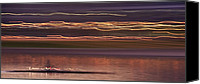 Rowers Canvas Prints - Tempe Town Lake Rowers Abstract 2 Canvas Print by Dave Dilli