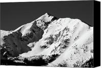 Peak One Canvas Prints - Tenmile Peak in Summit County Colorado Canvas Print by Brendan Reals