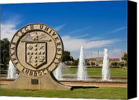Seal Canvas Prints - Texas Tech University Seal Canvas Print by Texas Tech University