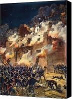 Star Man Canvas Prints - Texas: The Alamo, 1836 Canvas Print by Granger