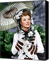 1949 Movies Canvas Prints - That Forsyte Woman, Greer Garson, 1949 Canvas Print by Everett