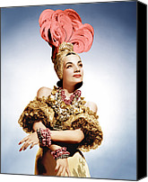 Gold Lame Canvas Prints - That Night In Rio, Carmen Miranda, 1941 Canvas Print by Everett
