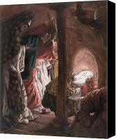 Magi Canvas Prints - The Adoration of the Wise Men Canvas Print by Tissot