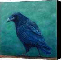 Ravens Canvas Prints - The Ancient One Canvas Print by Brian  Commerford