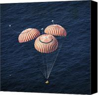 Success Photo Canvas Prints - The Apollo 16 Command Module Canvas Print by Stocktrek Images