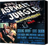 1950 Movies Canvas Prints - The Asphalt Jungle, Louis Calhern Canvas Print by Everett