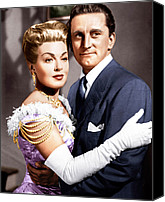 Opera Gloves Photo Canvas Prints - The Bad And The Beautiful, From Left Canvas Print by Everett