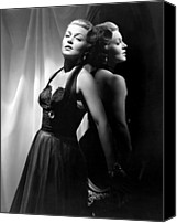 Publicity Shot Canvas Prints - The Bad And The Beautiful, Lana Turner Canvas Print by Everett