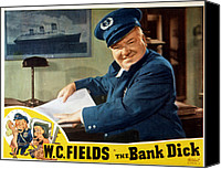 Posth Canvas Prints - The Bank Dick, W.c. Fields, 1940 Canvas Print by Everett