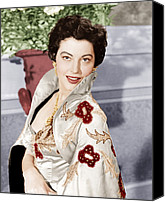 1950s Movies Canvas Prints - The Barefoot Contessa, Ava Gardner, 1954 Canvas Print by Everett